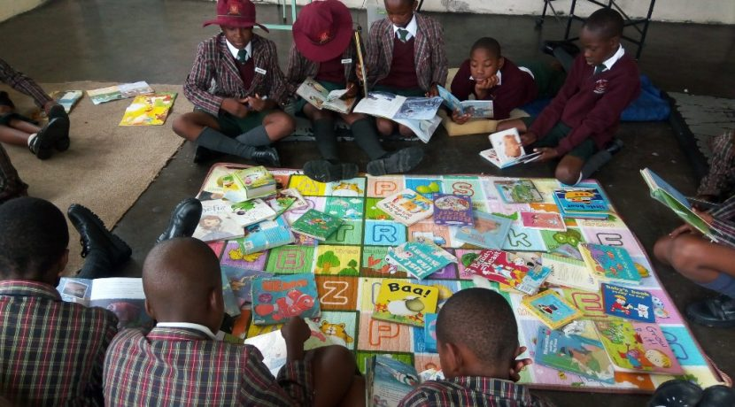 Preaching the gospel of books -Domboshava Community Library and Reading club Launch